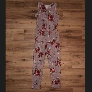 Cherry on Top Floral Women's Jumpsuit size M